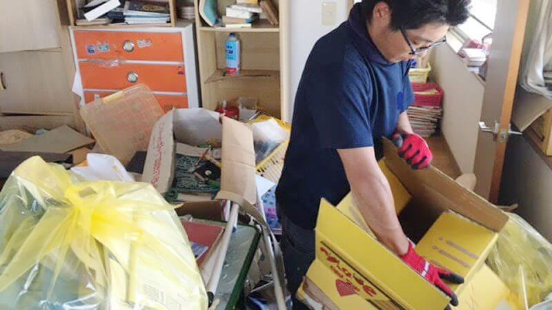 ゴミ屋敷の片付け・遺品整理