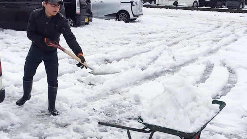 除雪承ります